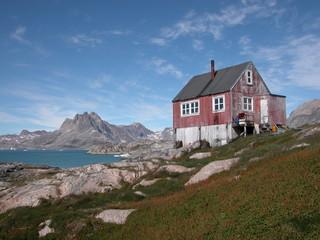 Haus in Grönland