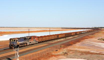 Eisenbahn im Outback Australiens