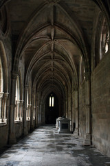 Inside the Cloister of the Cathedral of Evora, Portugal