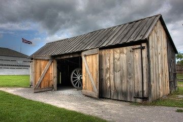 Foto auf Leinwand Befestigung Fort George National Historic Site, Niagara-on-the-Lake, On