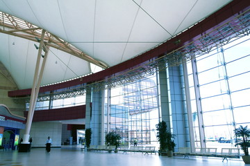 interior in airport