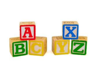 ABC and XYZ Blocks