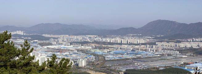Jinhae im Herbst