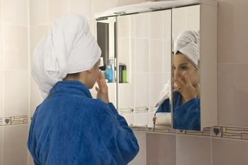Take care of face skin