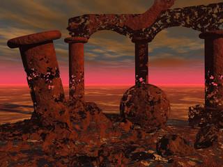 Recess Fitting Magenta Ruins101