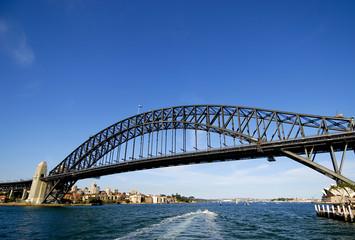 Harbour Bridge in Sydney, Australien