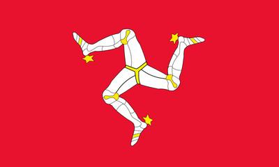 insel man fahne isle of man flag