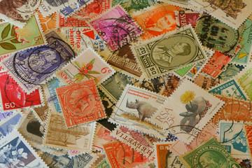 Stamp Background