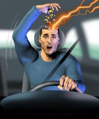 panico in auto