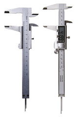 Calipers - Digital and Analog - Includes Clipping Path