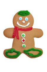 Decorated Gingerbread Cookie