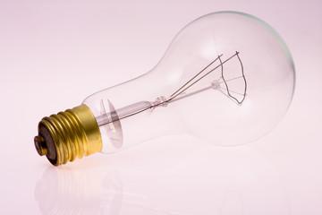 a one big light bulb