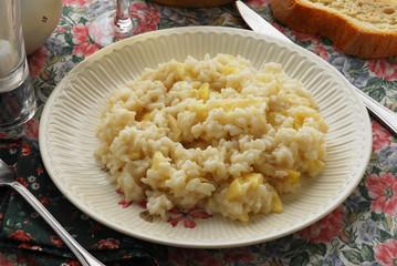 Risotto con le mele - Primi - Ricette del Trentino Alto Adige