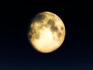 Moon At Night 4