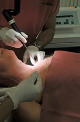 Operation mit Laser