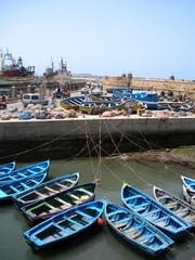 Port de pêche d'Essaouira au Maroc