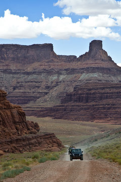 Jeeps in Canyonlands