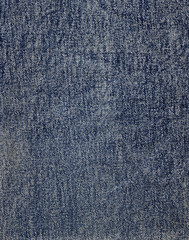 denim cloth. new, clean and flat without creases