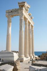 Turkey  ancient city Side. ruins