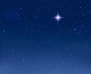 Glowing Evening Star