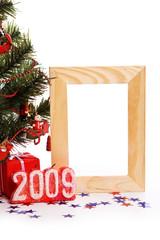 Photo frame for xmas card