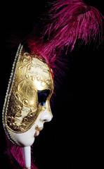 venetian woman mask