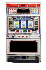 isolated slot machine