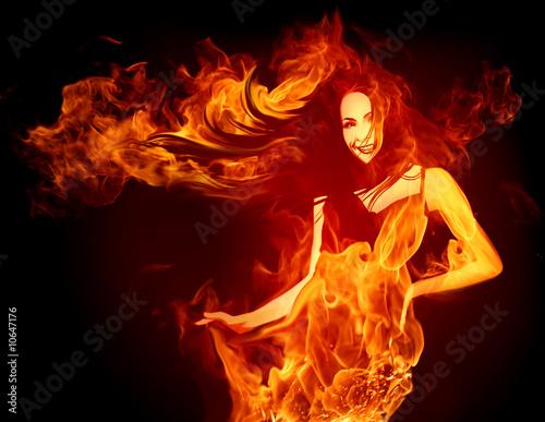 графика девушки костер дух природа graphics girls the fire spirit nature без смс