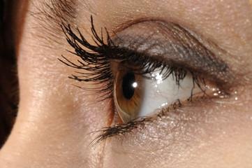 Frau, Mädchen, Auge, Portrait