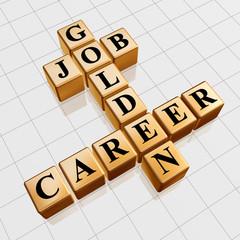golden job and career crossword