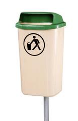 poubelle de rue