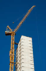 Skyscraper crane
