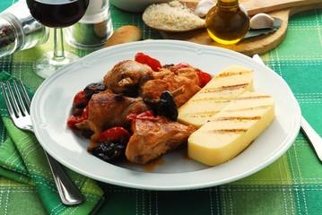 Sguazzetto di coniglio - Secondi di carne - Cucina istriana