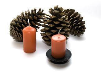 Kerzen - Zapfen