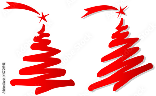 """albero di natale stilizzato"""" stock image and royalty-free vector"""