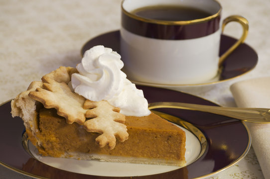Coffee and Pumpkin Pie