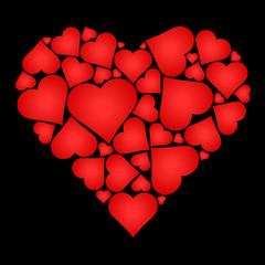 Coeurs en coeur