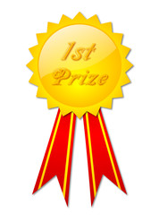 """1st Prize"" Badge"