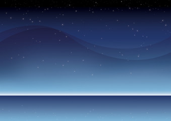 xmas blue sky background