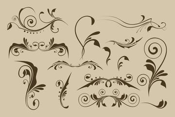 Set vector patterns for design