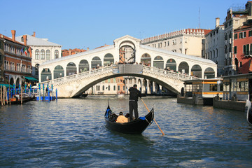 Obraz Venezia - Rialto - fototapety do salonu
