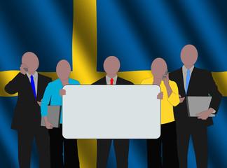 Swedish business team