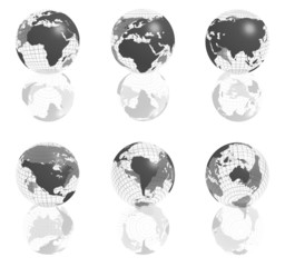 gray globe collection