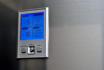 fridge control panel