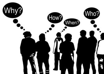 Menschen und Fragen