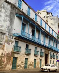 Garden Poster Cars from Cuba havane