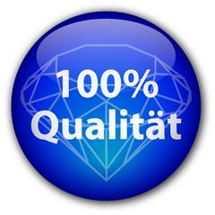 """"""" 100% Qualität """" knopf (mit Diamant)"""
