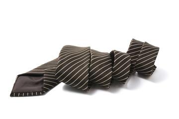 Pinstriped Necktie