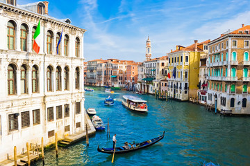 Deurstickers Venetie Grand Canal in Venice
