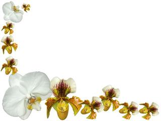 demi-cadre fleuri